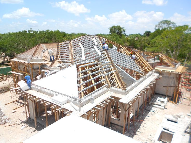 poured concrete roof in mexico wow awesome homes