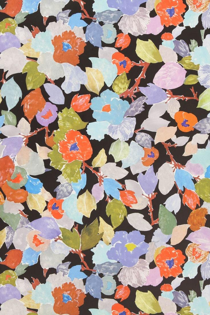 floral wallpaper floral pinterest