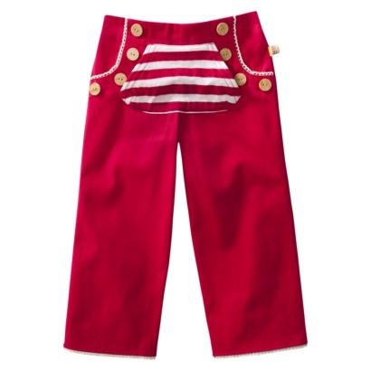 Harajuku Mini for Target® Toddler Girls Sailor Pant - Dark Pink