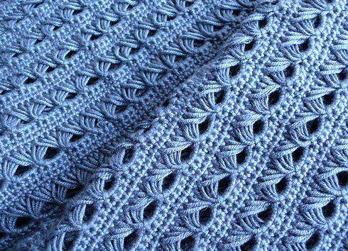 Knit Pattern Broomstick Lace : BROOMSTICK CROCHET SHAWL PATTERNS FREE CROCHET PATTERNS