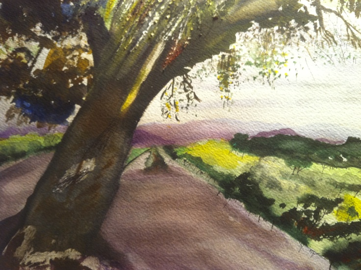 "watercolor ""Family Tree"""