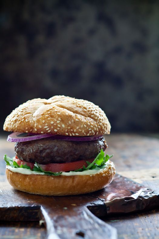 Lamb Burger | Bread, Rice & Pasta (Food Photography) | Pinterest