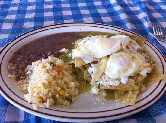 Chilaquiles Verdes Recipe — Dishmaps