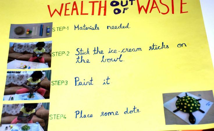 Wealth out of waste chrysalis day 2014 pinterest for Waste to wealth ideas