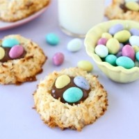 Macaroon Nests with Nutella | Recipes | Pinterest