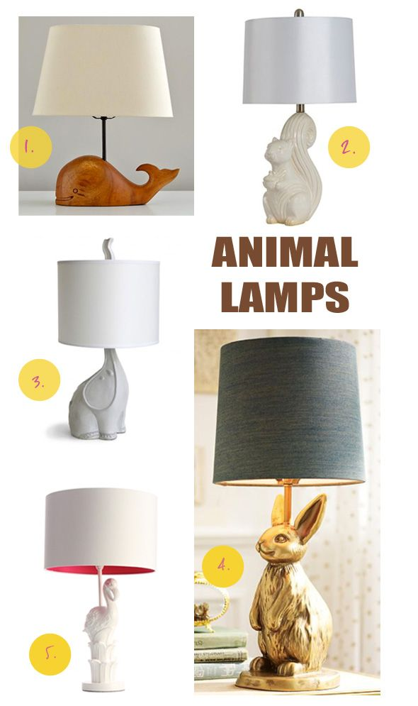 Table Lamps With Animal Bases Best Inspiration For