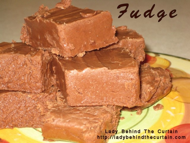 Easy Fudge | Recipe