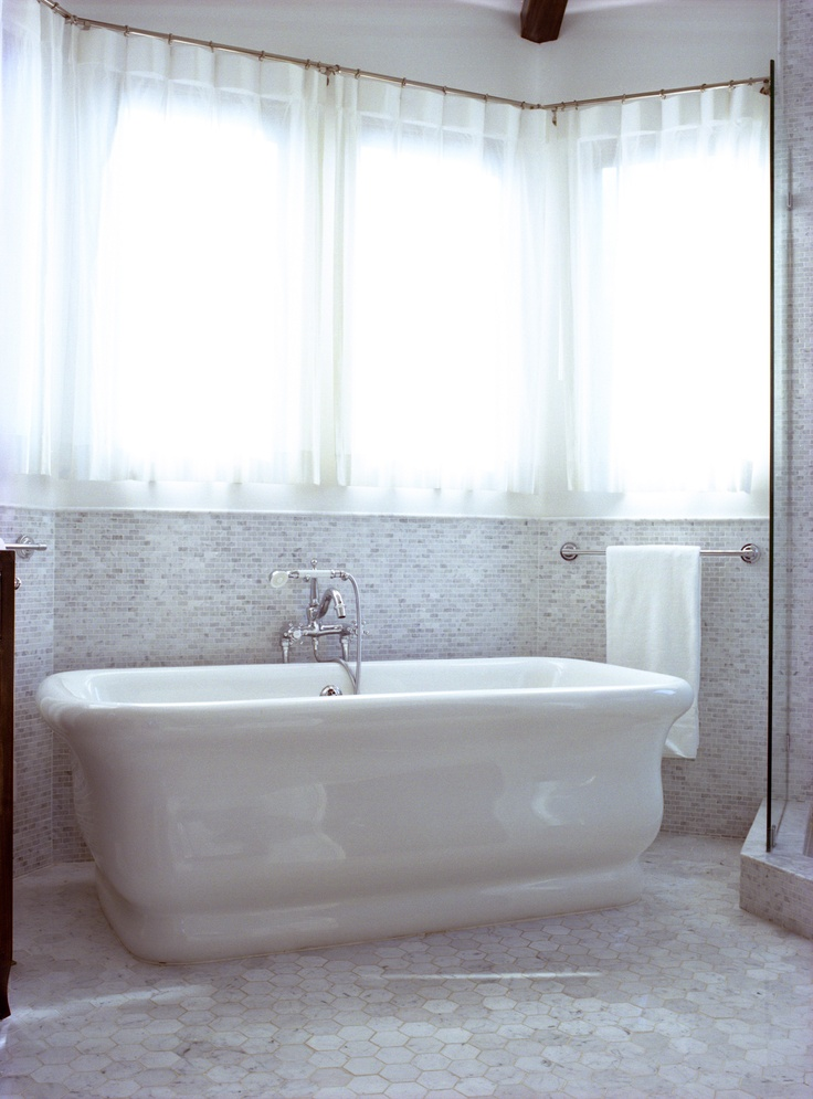 Master bathroom with carrera marble bathrooms pinterest for Carrera bathroom ideas