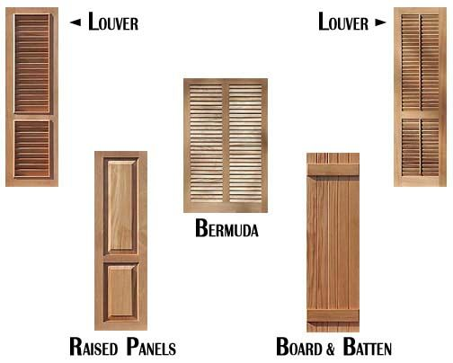 Shutter types home window coverings pinterest - Types shutters consider windows ...