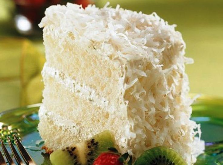 Key Lime Coconut Angel Cake | Desserts | Pinterest