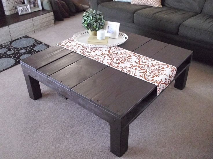 My Pallet Coffee Table Must Try Pinterest