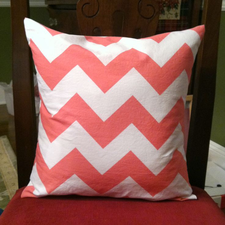 How To Make A Throw Pillow Cover : Easy sew pillow cover Pillows Pinterest