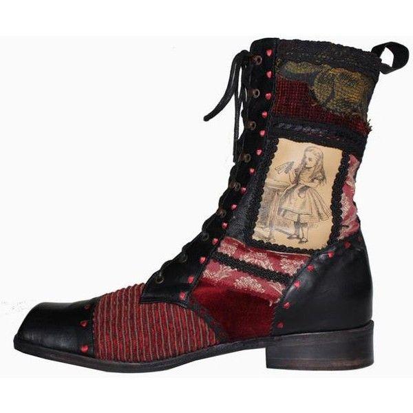 alices wonderland boots
