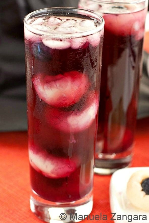 Lychee And Blueberry Or Cranberry Eyeballs Recipe — Dishmaps