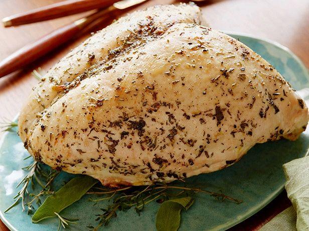 Herb-Roasted Turkey Breast Recipe : Ellie Krieger : Food Network ...