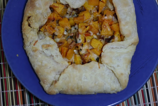 Butternut Squash and Caramelized Onion Galette -- suggested to use ...