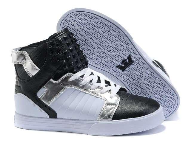 Metallic Black Rivet - $78.00 : Cheap Supra Shoes For Sale Online