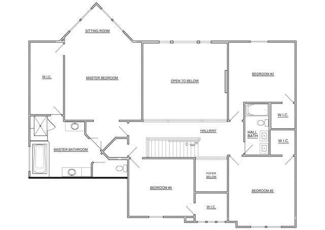 Fischer Homes 2nd Floor Floor Plan 2012 Bia Parade Of