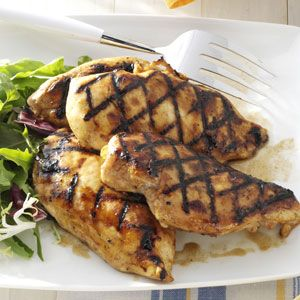 Orange-Spiced Chicken -Could try using Tropicana 50 instead of 1/2 cup ...
