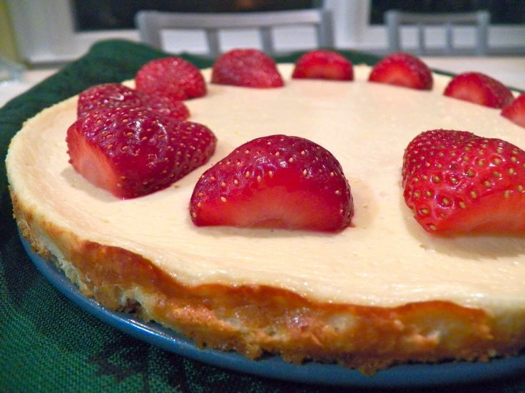 Greek Yogurt Cheesecake. I used 0% as directed but would probably try ...