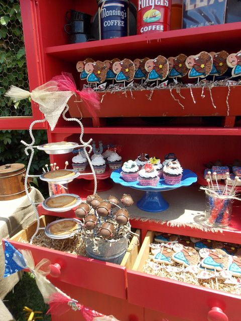 western cowboy baby shower party ideas photo 2 of 28 catch my