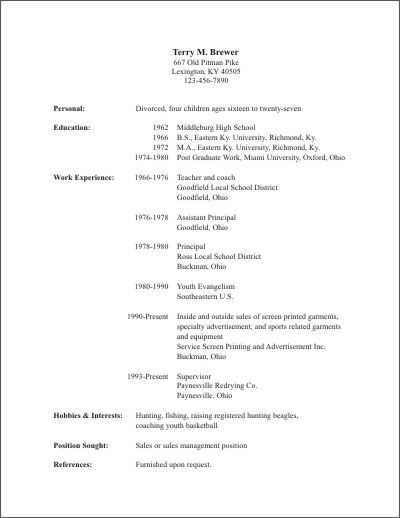 ... resume templates are available in word format resume template 6