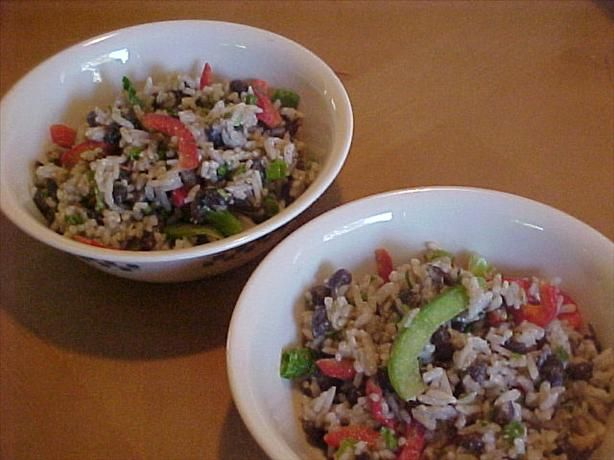 Black Bean and Rice Salad | Recipes | Pinterest