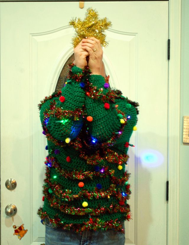 tacky christmas sweater 2 0 do it yourself pinterest