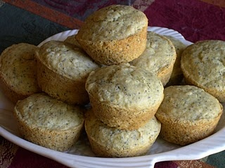 OOH! Lemon Poppy Seed muffins / Gluten- and Dairy-Free