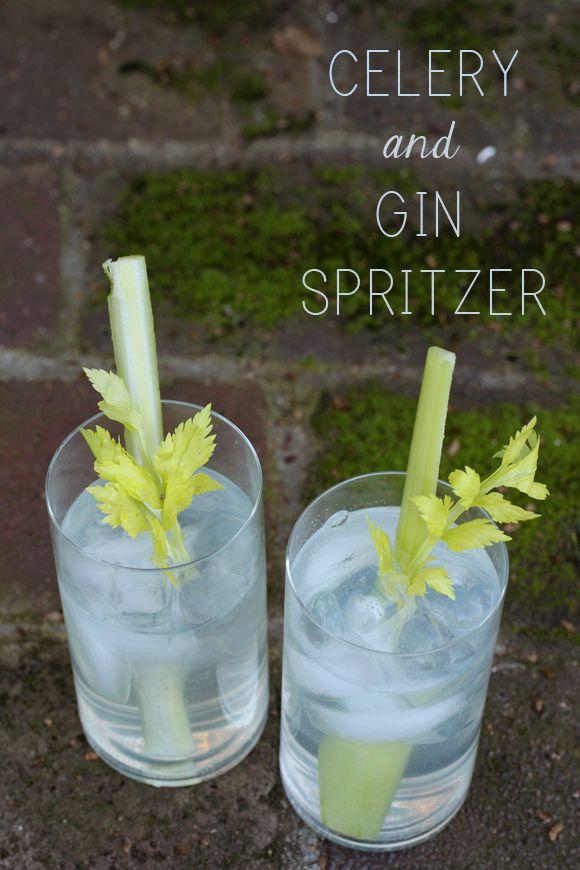 Celery & Gin Spritzer
