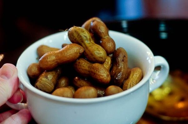 Boiled Peanuts Recipe and Fall Drives from addapinch.com