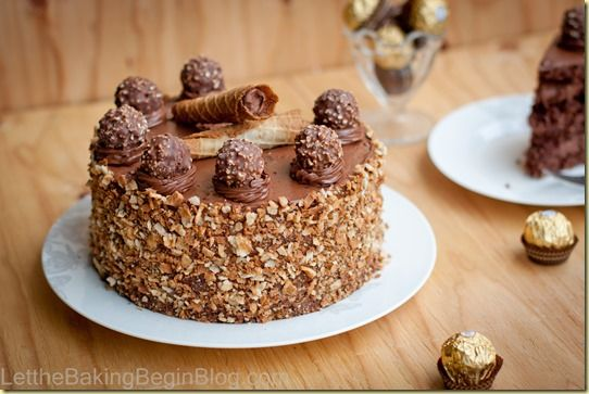 Ferrero Rocher Milk Chocolate With Hazelnut Cake Recipes — Dishmaps
