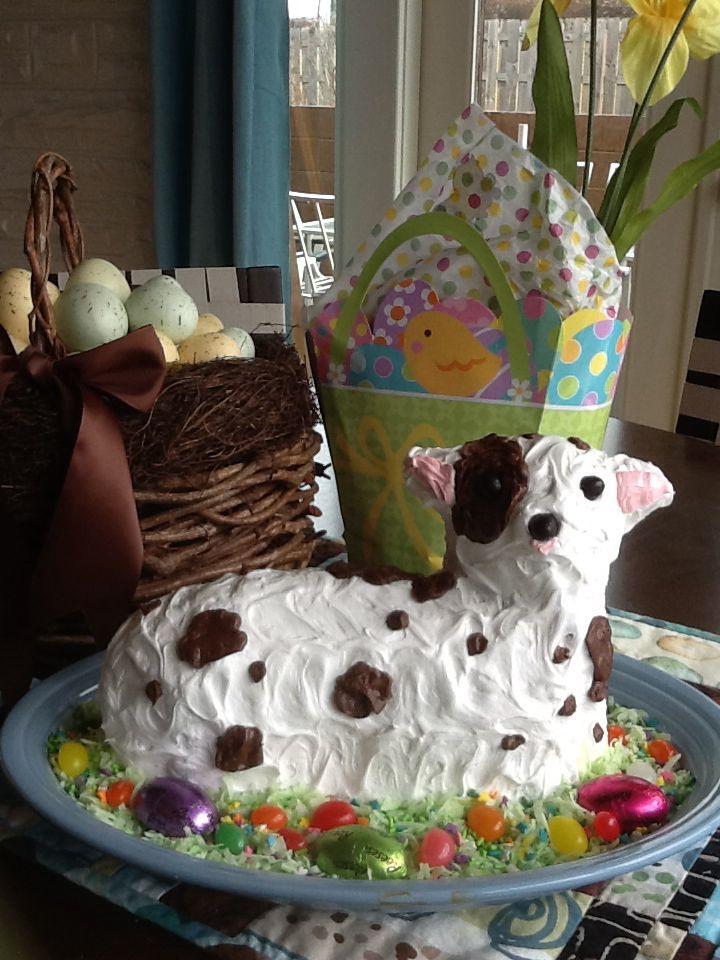 Easter Lamb cake | Easter | Pinterest