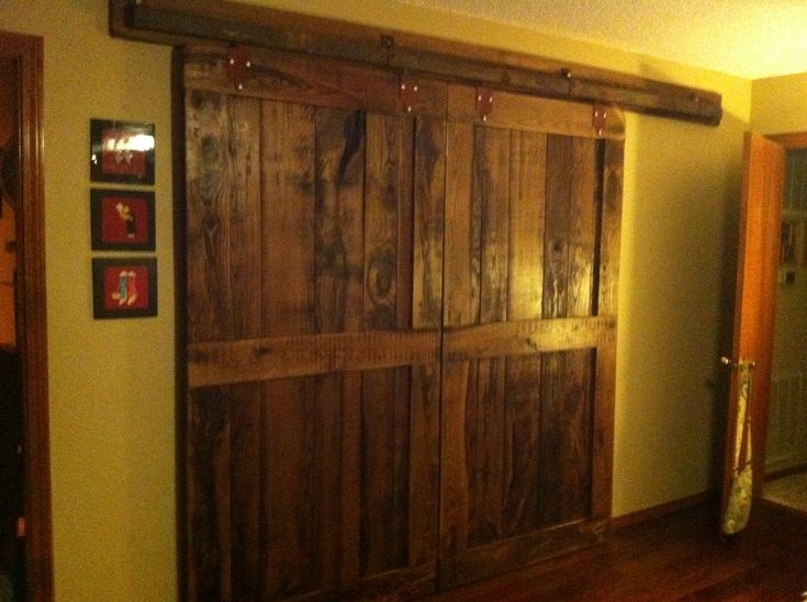 barn doors for the bedroom closet for the home pinterest