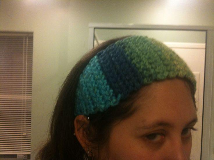 Free Crochet Patterns For Wide Headbands : Wide crochet headband free pattern Crochet Pinterest