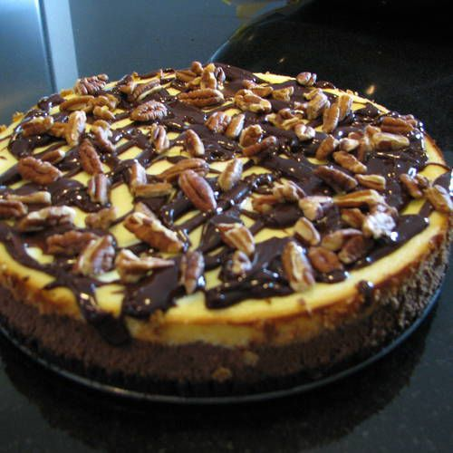 Double Chocolate Cheesecake | catering ideas | Pinterest