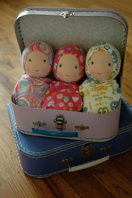 inspiration: little dolls