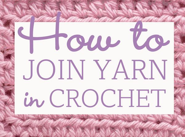 Crocheting How To Join Yarn : How to join yarn in crochet Crochet Pinterest