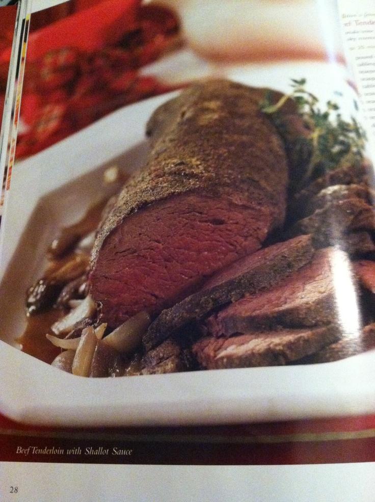 shallot beef tenderloin with shallot mustard sauce beef tenderloin ...