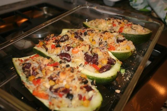 Stuffed Zucchini!   Gluten free and Celiac   Pinterest