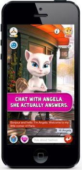 Talking Angela iPhone app scare spreads on Facebook