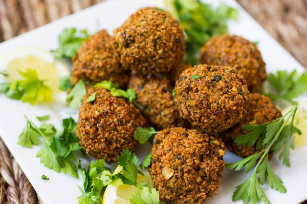 Falafel - this recipe is delicious and a good technique for using ...