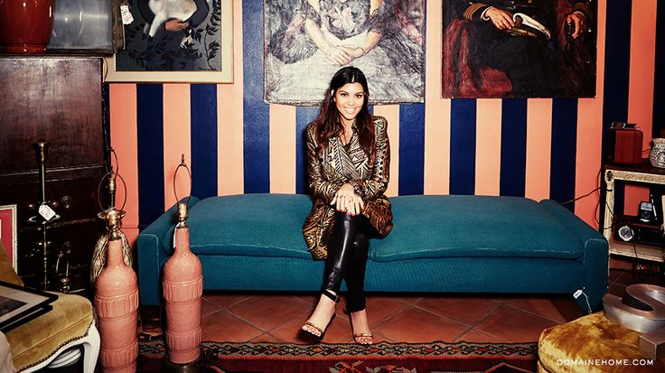 Kourtney Kardashian Talks Branching Off Into Interior Design and Details On Her New Home