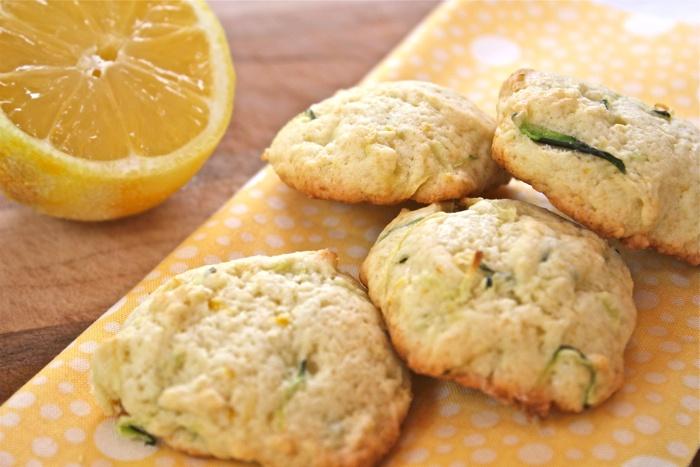 Lemon zucchini cookies - Adventures of the Kitchen Ninja (a Vermont ...