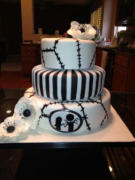 Nightmare Before Christmas Cake Decorating Ideas Pinterest