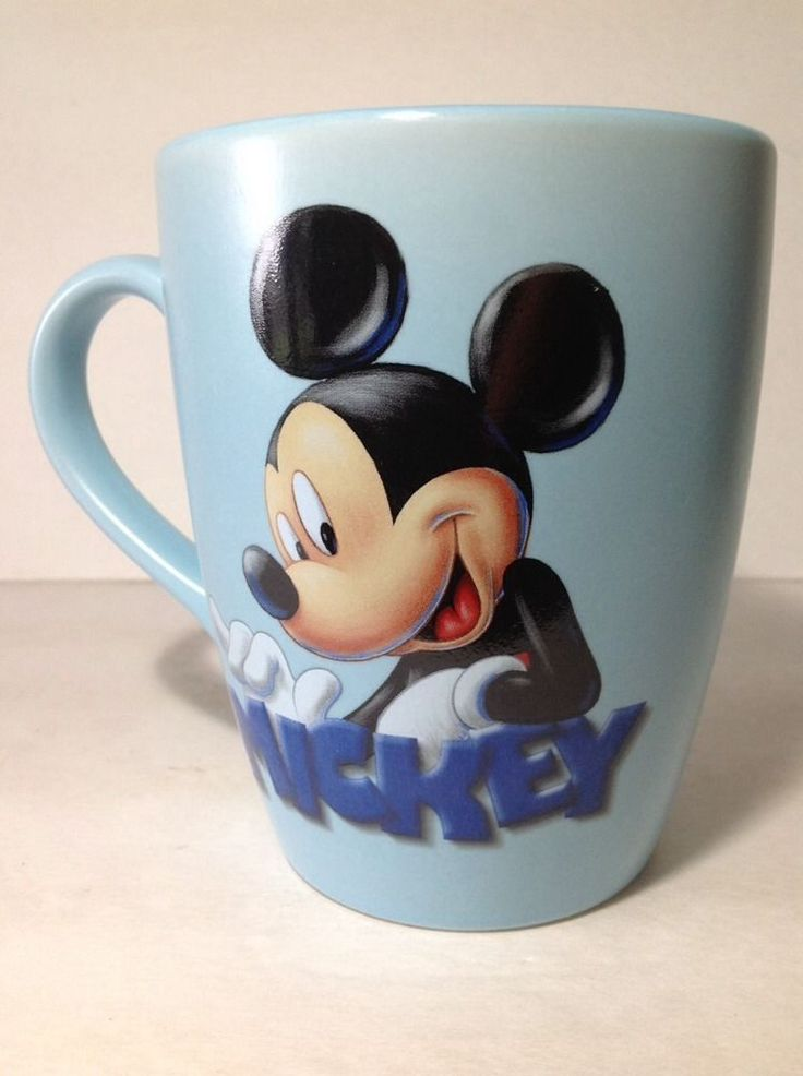 Mickey disney store mickey mouse blue large coffee mug tea cup 20 oz - Disney store mickey mouse ...