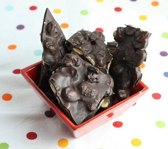 Chocolate Almond Bark with Sea Salt | It's a Sweet Tooth thing | Pint ...