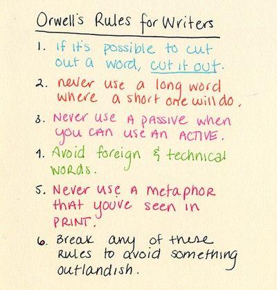 essay orwell
