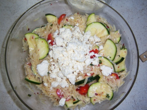 Orzo Zucchini Salad | Eat it up. | Pinterest