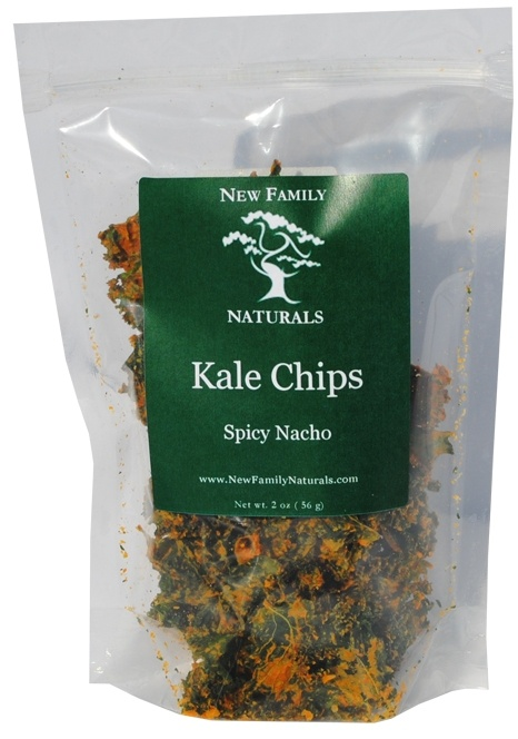 Spicy Nacho Kale Chips - Kale, red bell pepper, cashews, nutritional ...
